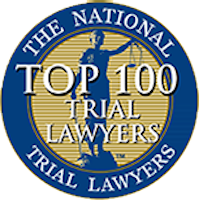 Top 100 Trial Lawyers - the national trial lawyers logo