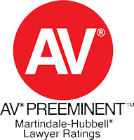 AV Preeminent Martindale-Hubbell Lawyer Ratings logo
