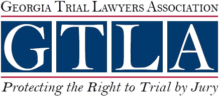 GTLA Georgia Trial Lawyers Association - Protecting the Right to Trial by Jury logo
