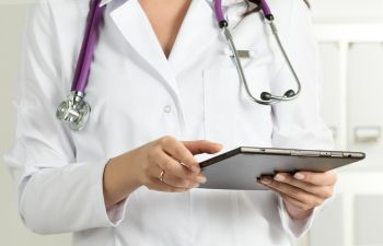 Doctor Giving Diagnosis